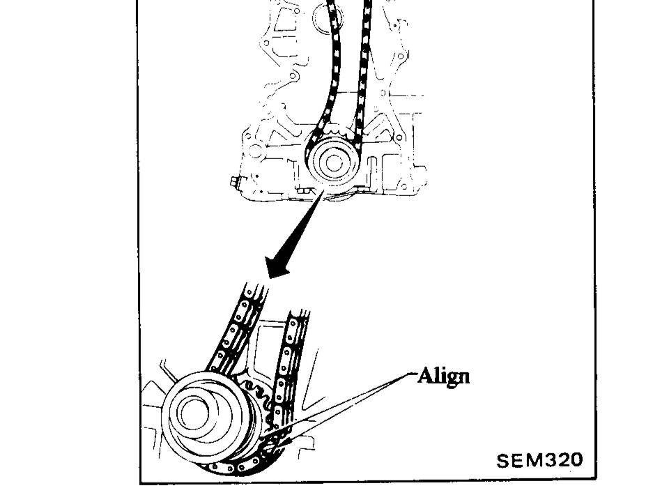 timing chain install help - S130 Series - 280ZX - HybridZ
