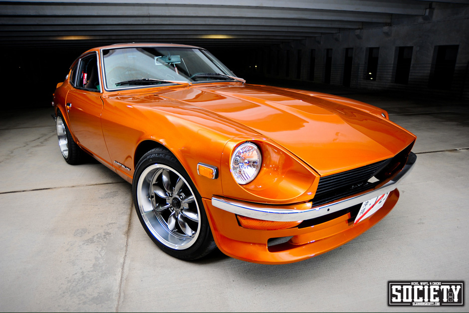 Differences in chrome bumpers for the 240Z - Body Kits