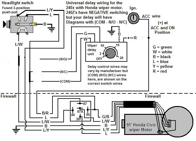 Wiring Diagram For Wiper Motor - Wiring Diagram Schemas