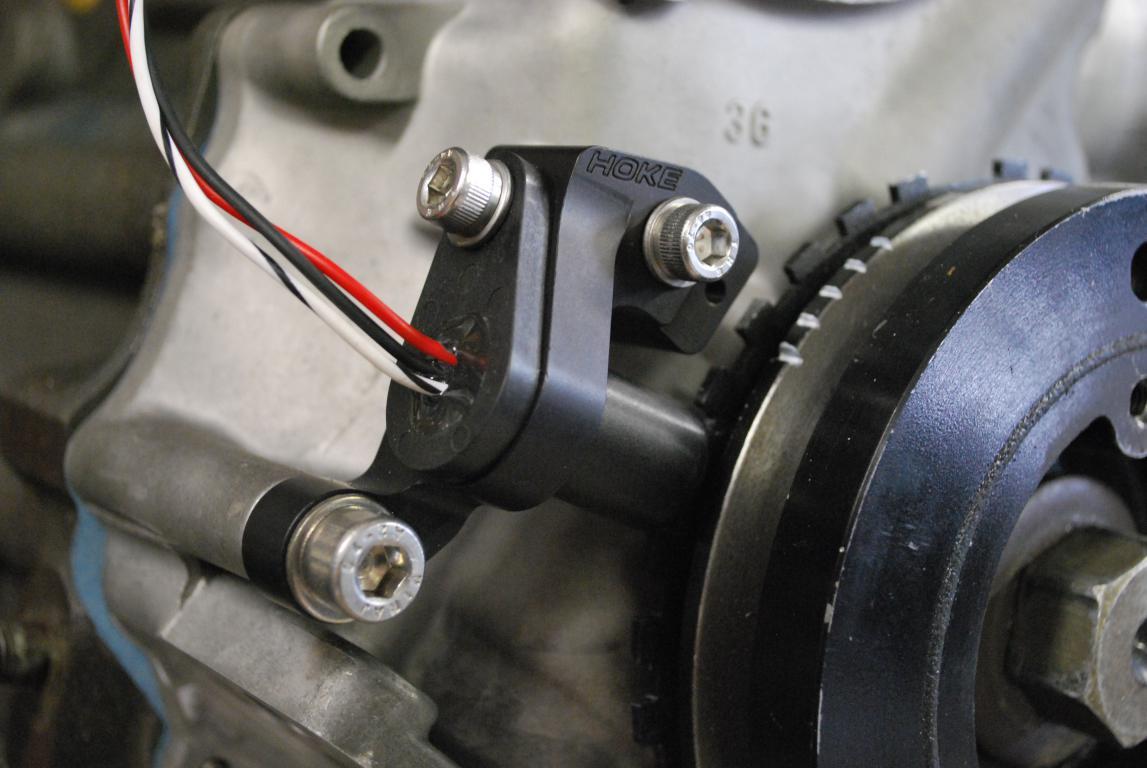 L28 Crank Angle Sensor Mount and Trigger Wheel - Vendor's
