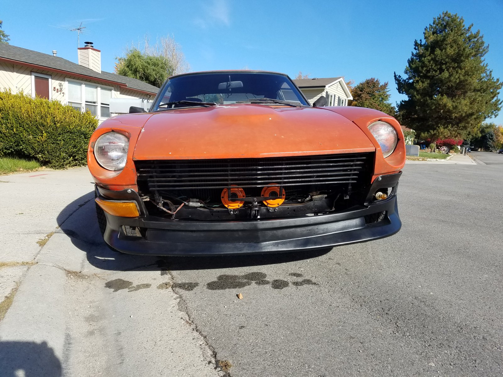 My 240z after some paint