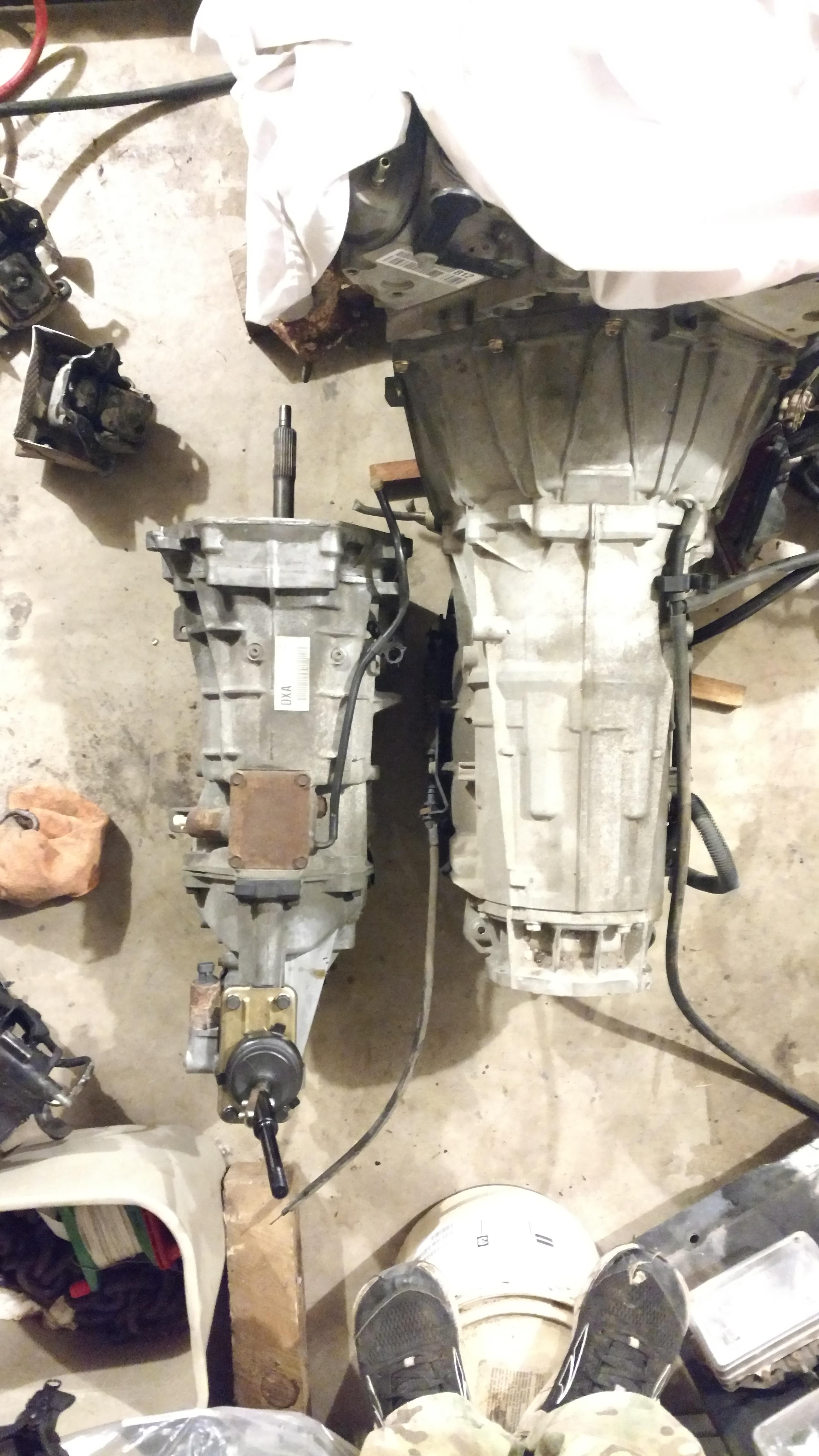 6l80e fit in a 75 280z? - Gen III & IV Chevy V8Z Tech Board