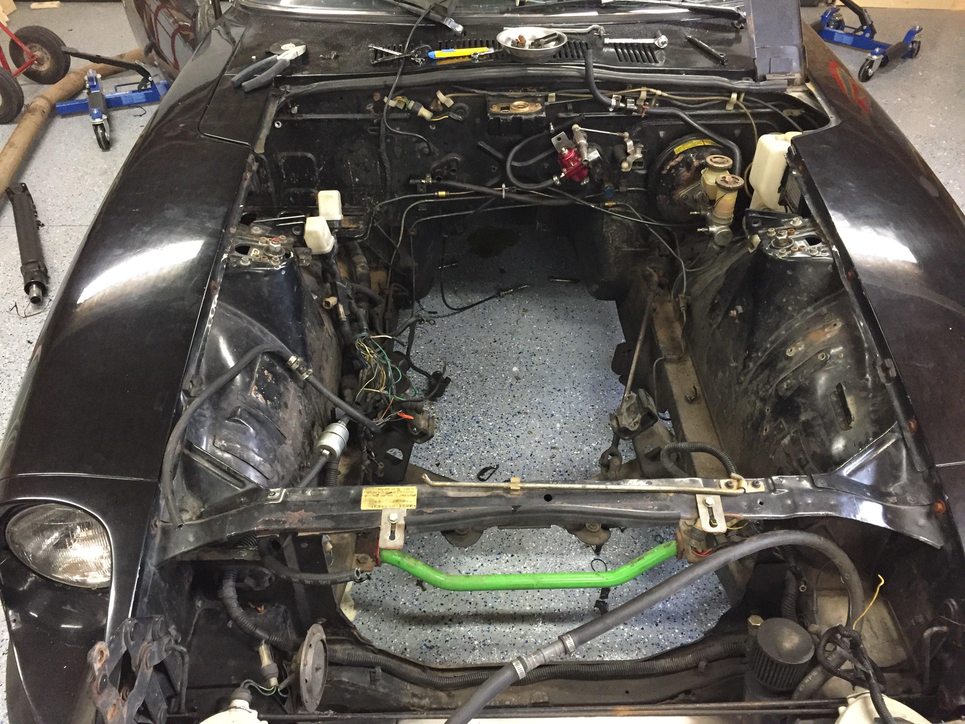280z Ford 4 6L Mod Motor - Ford V8Z Tech Board - HybridZ