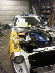 working on getting her hooked up